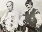 Schanz Senior und Junior 1985