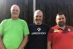 Die ersten Drei beim ITM 2021: Ole Kristensen, Waldemar Schanz, Onofre Notebaert